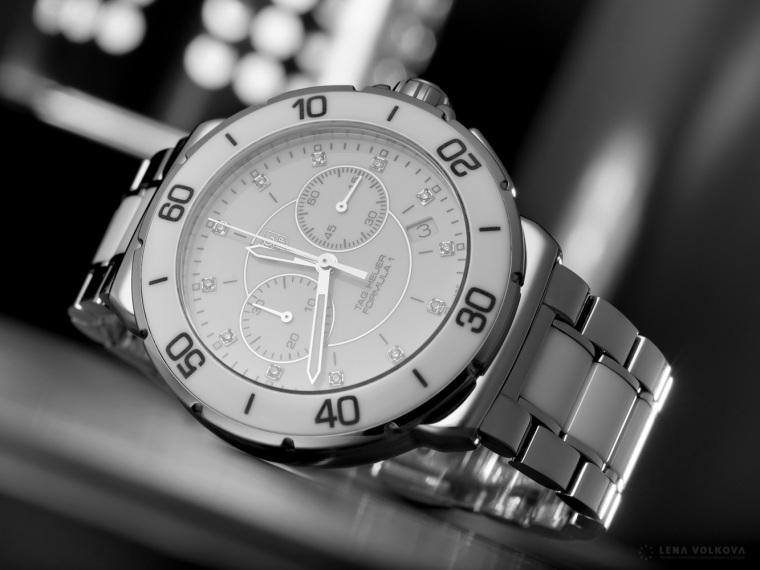 Часы Tag Heuer, тест Pentax 645Z