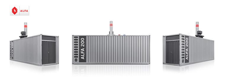 Котельная установка Alfa-200